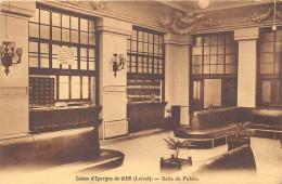 45-GIEN-CAISSE D'EPARGNE , SALLE DU PUBLIQUE - Gien