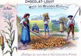 Battage Du Mais Dans Le Sud- Ouest De La France - Louit