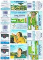 ETIQUETTES-EAU VOLVIC-DIVERS-2 SCANS- - Etiketten
