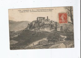 CARROS (A M) 1132 LIGNE DU SUD DE LA FRANCE VALLEE DU VAR EXCURSIONS AUX ENVIRONS DE NICE 1912 - Frankreich
