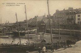 56 - CPA Port-Louis - Le Boulevard Et La Rue De La Pointe - Port Louis