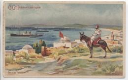 Illustrateur - LESSIEUX - MAROC:  Baie De Tanger - Cie Gle Transatlantique - Lessieux