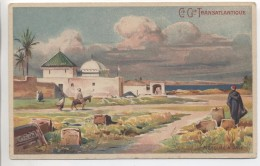 Illustrateur - LESSIEUX - Maroc: Mosquée à Sale - Cie Gle Transatlantique - Lessieux