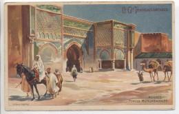 Illustrateur - LESSIEUX - Maroc: Merkès, Portes Monumentales - Cie Gle Transatlantique - Lessieux