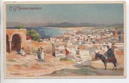 Illustrateur - LESSIEUX - Maroc: Tanger - Cie Gle Transatlantique - Lessieux
