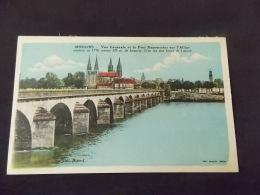 Moulins Vue Générale Et Le Pont Régemortes Sur L Allier - Moulins