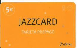 TARJETA PREPAGO JAZZTEL - Tarjetas Telefónicas
