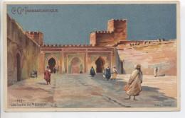 Illustrateur - LESSIEUX - Maroc: FEZ, Les Tours Du Méchoir - Cie Gle Transatlantique - Lessieux