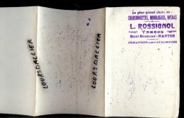 BUVARD L. ROSSIGNOL Quai BRANCAS NANTES Chansonnettes, Monologues, Opéras - Tabac & Cigarettes