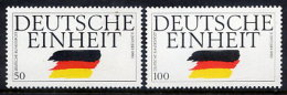 BRD 1990 150th Reunification Of Germany  MNH / **.  Michel 1477-78 - [7] Federal Republic