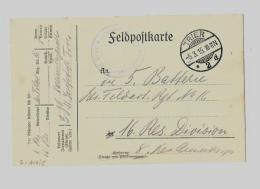 CROIX-ROUGE 1914 / 1918ALLEMAGNE « TRIER »Carte Postale De Franchise Militaire Des Prisonniers De Guerre Obl - Deutschland