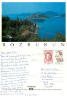 Bozburun, Turkey Postcard Posted 1999 Stamp - Türkei