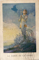 CPA LA SAINTE DE LA PATRIE - Postkaarten