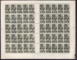 AEF 1937-42  -  YT  41 - Feuille Entière De 50 Timbres NEUFS** - Cote 50e - A.E.F. (1936-1958)