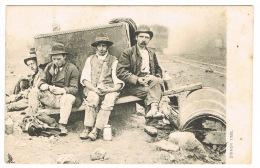 RB 1117 - Rare 1908 Raphael Tuck Postcard - Railway Workers Dinner Time - Hambledon Hampshire Cancel - Tuck, Raphael