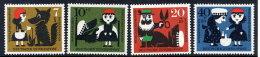 BRD 1930 Charity: Grimm Fairy Tales Set Of 4 MNH / **.  Michel 340-43 - [7] Federal Republic