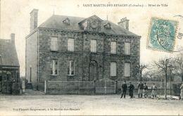 N°55 F -cpa Saint Martin Des Besaces -hôtel De Ville- - Andere Gemeenten