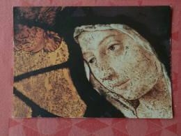 Dep 77 , Cpm  MELUN , Chevet De L'Eglise Saint ASpais , Vierge , Détail De Verrire  (265) - Melun