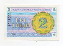 Kazakistan - 1993 - Banconota Da 2 Tiyn - Nuova -  (FDC308) - Kazakistan