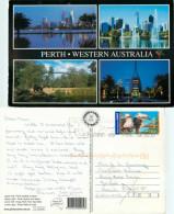 Perth, Western Australia, Australia Postcard Posted 2005 Stamp - Perth