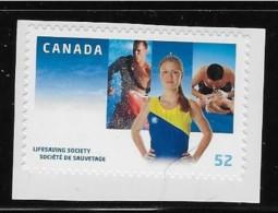 CANADA 2008, # 2282i, Peak At Upper Left, LIVESAVING SOCIETY 100th Anniversary Single MNH - Carnets