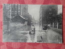 Dep 92 , Cpa ASNIERES , Inondations De Janvier 1910 , 17 , Rue D'Anjou  (121) - Asnieres Sur Seine