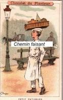 Chromo  CHOCOLAT DU PLANTEUR -  Petit Pâtissier  - Scans Recto-verso - Andere