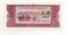 Laos -  - Banconota Da 50 Kip - Nuova -  (FDC311) - Laos