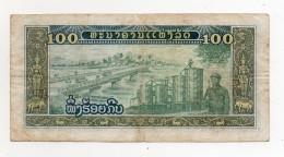 Laos -  - Banconota Da 100 Kip - Usata -  (FDC312) - Laos