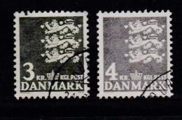 DENMARK, 1969, Used Stamp(s),Definitives, MI 483-484, #10098 , 2 Values - Denmark