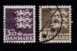 DENMARK, 1970, Used Stamp(s), Definitives, MI 499-500, #10100 , 2 Values - Denmark
