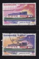 DENMARK, 1973, Used Stamp(s), Scandinavian Cooperation, MI 545-546, #10112 Complete - Denmark