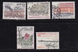 DENMARK, 1974, Used Stamp(s), Tourism,  MI 564-568, #10116 Complete - Denmark