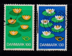 DENMARK, 1977, Used Stamp(s), Scandinavian Cooperation,  MI 635-636, #10132, Complete - Denmark