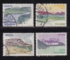 DENMARK, 1977, Used Stamp(s), Tourism South Jutland,  MI 641-644, #10135, Complete - Denmark