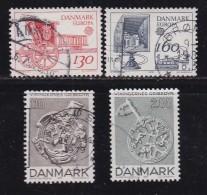 DENMARK, 1979, Used Stamp(s), Post & Viking Art,  MI 686-689, #10146, Complete - Denmark