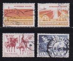 DENMARK, 1981, Used Stamp(s), Kopenhagen & Europa,  MI 728-731, #10155, Complete - Denmark