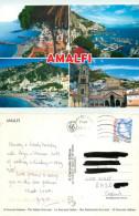 Amalfi, SA Salerno, Italy Postcard Posted 2010 Stamp - Salerno