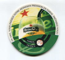 "Convertisseur D'euro Sous-bock ""Bière Heineken"" 2002 - Monnaies & Billets"