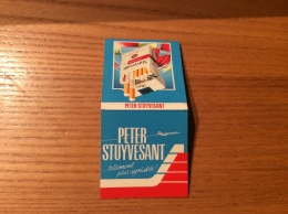 "Pochette D´allumettes ""PETER STUYVESANT"" (photo Paquet) - Luciferdozen"