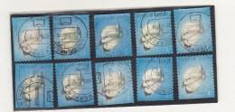 4255+abc  O  Stempels Kunnen Verschillen - Carnets 1953-....