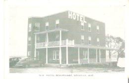 10-H  Hotel Beaurivage, Neuville, Quebec - Quebec