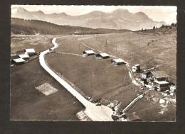 En Avion Au Dessus De HAUTELUCE - Le Col Des Saisies   ( Vue Aérienne ) LAPIE N° 6 - Autres Communes