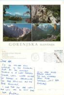 Gorenjska, Slovenia Postcard Posted 2000 Stamp - Slovenia