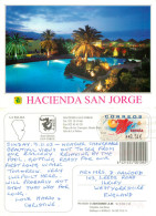 Hacienda San Jorge, Brena Baja, La Palma, Spain Postcard Posted 2003 ATM Meter - La Palma