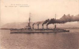 """BATEAU De GUERRE -    Croiseur Leger """" MULHOUSE """" - Guerra"""