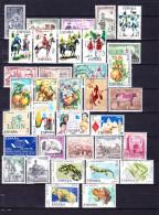 ESPAGNE 1975 YT N° 1886 à 1927, 1929 Et 1939 à 1941 ** - 1971-80 Unused Stamps