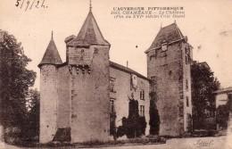 Chaméane - Le Château Côté Ouest, 1924 - Autres Communes
