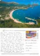 Valtos, Parga, Greece Postcard Posted 2011 Stamp - Greece