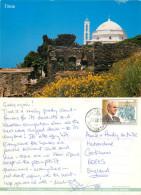 Church, Tinos, Greece Postcard Posted 1999 Stamp - Greece